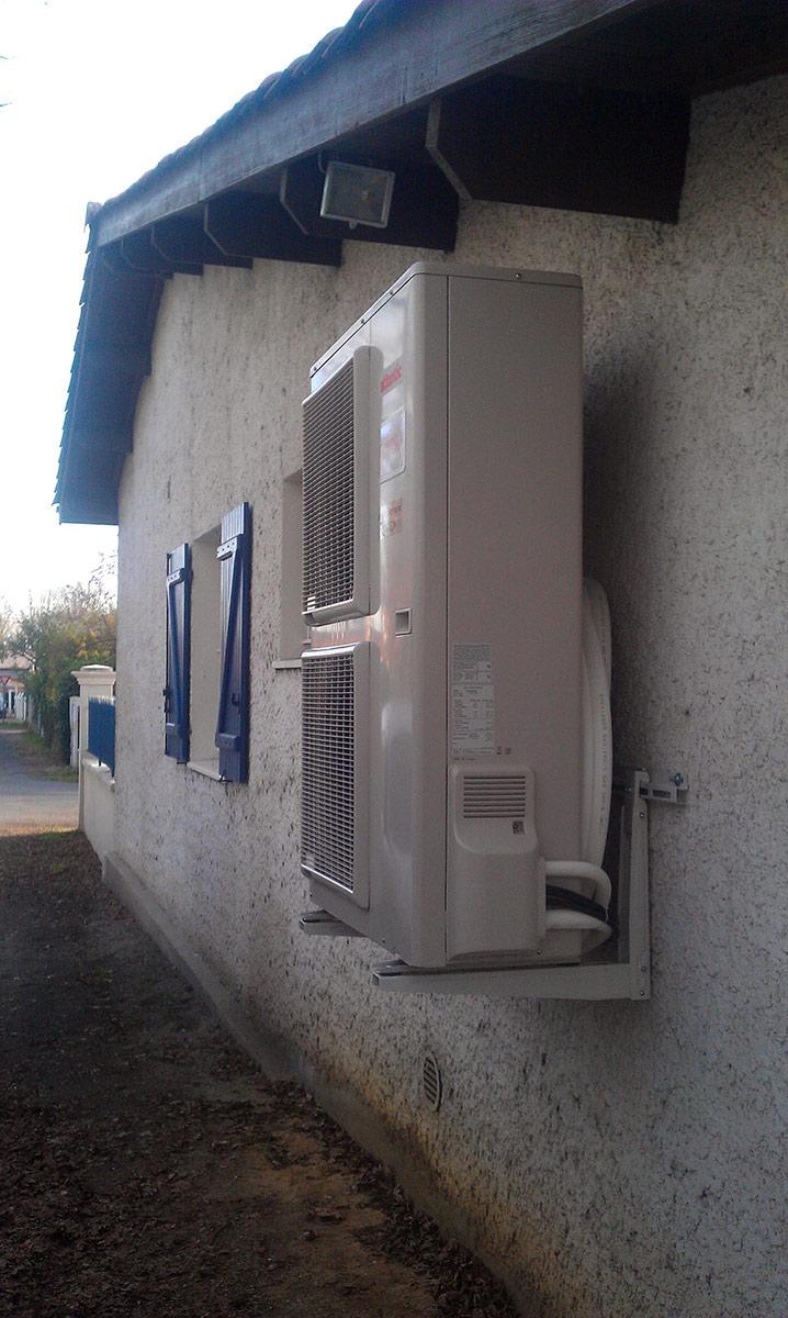 Pompe    chaleur air eau   chauffage